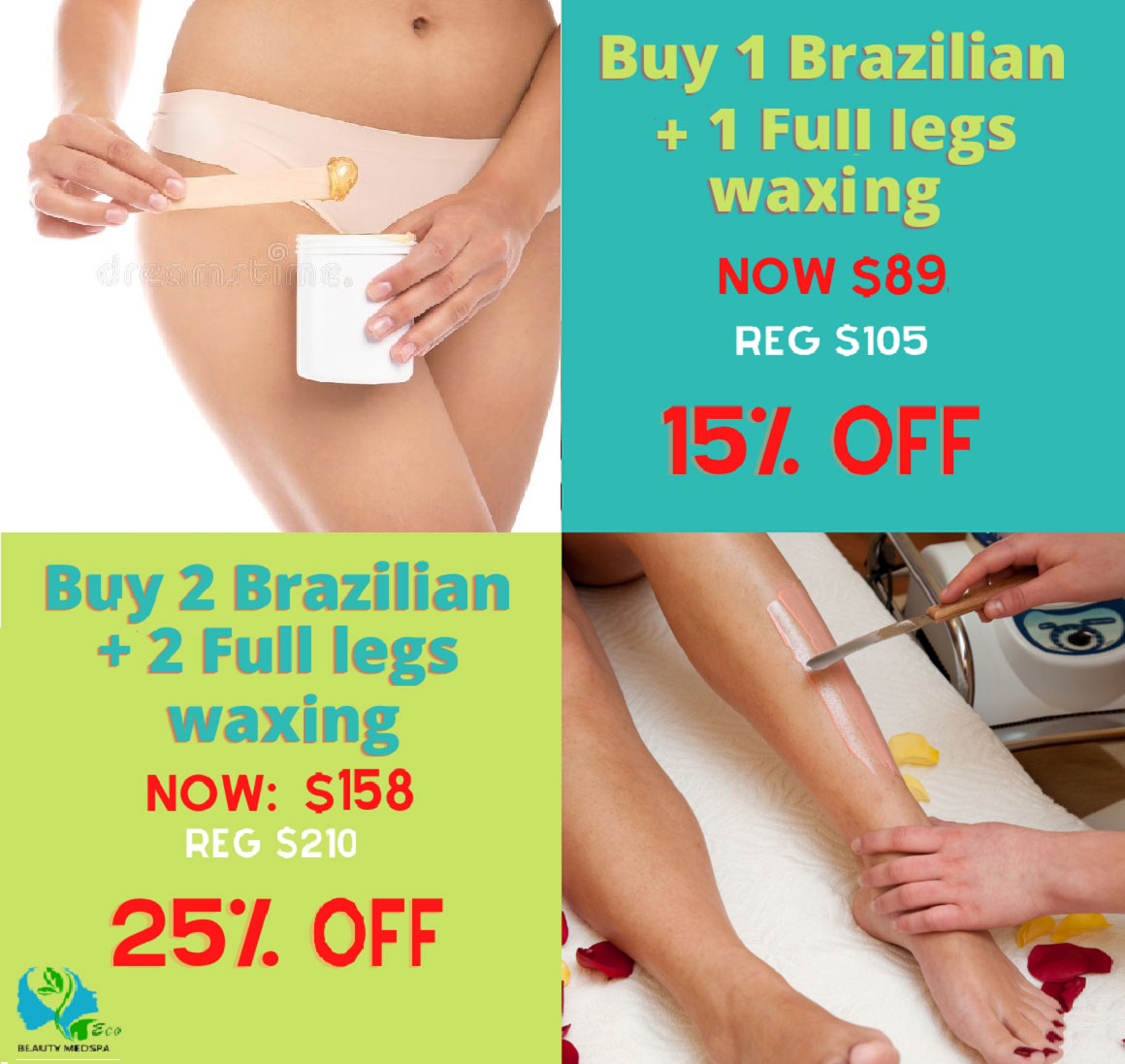 Special offers for Women Waxing